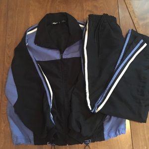 Vintage Warm up suit, new w/o tags, medium petite